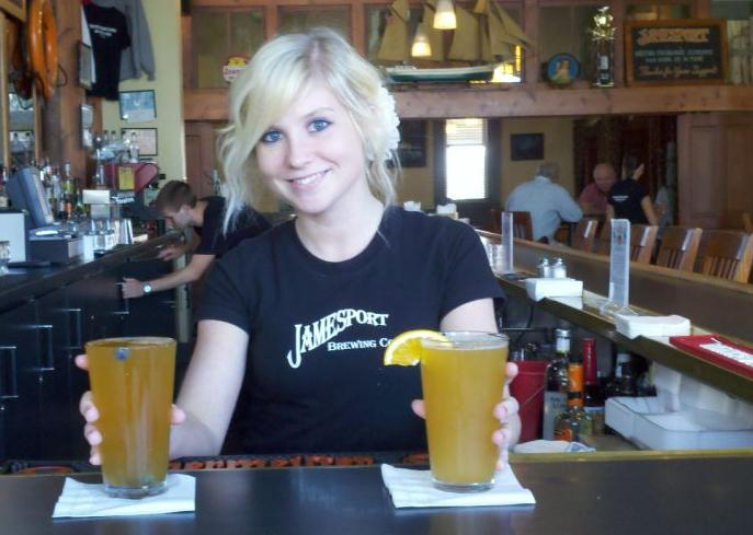 Jamesport Brewing Company in Ludington